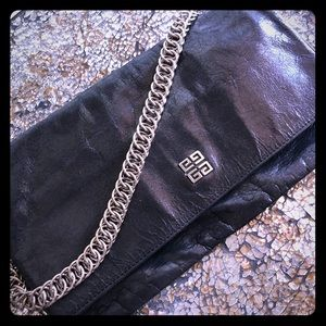 Givenchy fold over clutch purse